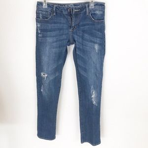 Bullhead distressed skinny jeans in size 5.   A072